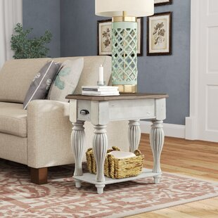 Find the perfect Quevillon End Table ByLark Manor