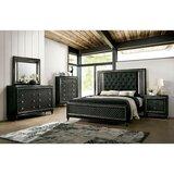 Monreal Demetria Queen Platform Solid Wood 5 Piece Bedroom Set by Rosdorf Park