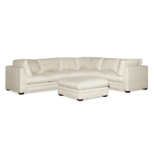Hagaman Sectional With Ottoman by Ivy Bronx Sale