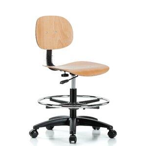 Wood Drafting Stool find the best wood drafting chairs   wayfair