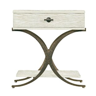 Resort Windward Dune End Table with Storage