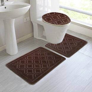 Brown Bathroom Rug Sets Wayfair