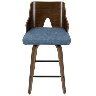 Beauviore 26 Swivel Bar Stool by Corrigan Studio