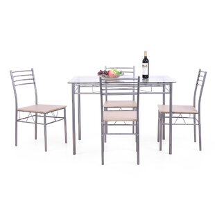 Frostley 5 Piece Dinning Set by Winston Porter