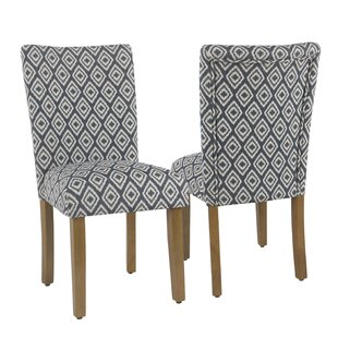 Review Alexandro Upholstered Dining Chair (Set of 2) by Mistana