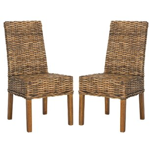 Affordable Thomas Dining Chair (Set of 2) by Beachcrest Home Reviews (2019) & Buyer's Guide