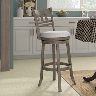 Affordable Beecroft 30.5 Swivel Bar Stool by Gracie Oaks Reviews (2019) & Buyer's Guide