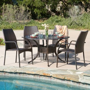Tucci 5 Piece Dining Set