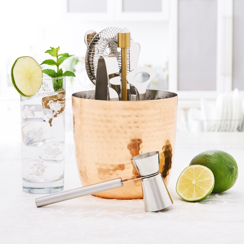 Aura Hammered Bar Tool Set
