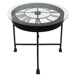 Lumm Clock Console Table By Canora Grey