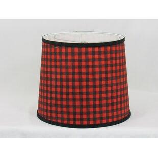 Buffalo Plaid Cotton Drum Lamp Shade