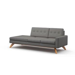 Reviews Luna 94 One Arm Sofa by TrueModern Reviews (2019) & Buyer's Guide