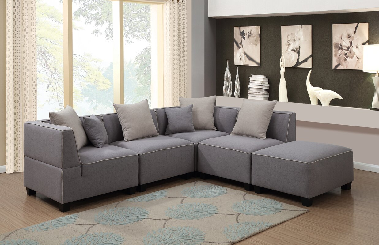 Holly Modular Sectional : modular sofa sectional - Sectionals, Sofas & Couches