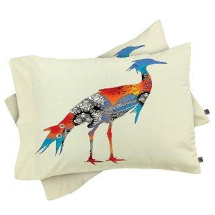 Iveta Abolina Bluebird Pillowcase