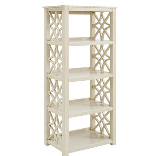 Compare prices Vicente Standard Bookcase By Highland Dunes
