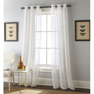 Payton Grommet-top Window Curtain Panels (Set of 2)