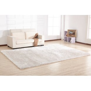 Inexpensive Hand-Tufted Off White Area Rug ByRug Factory Plus