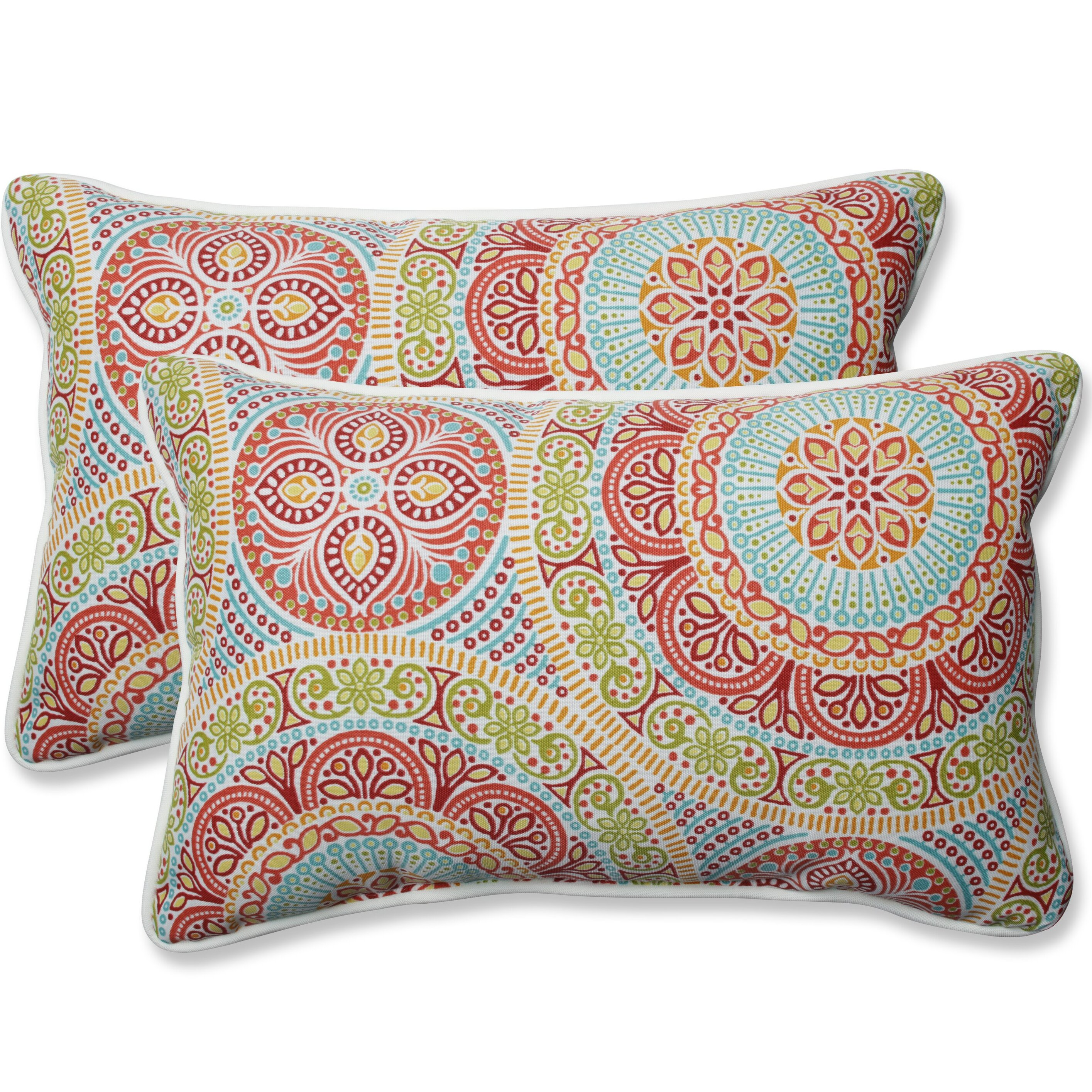 Charlton Home Devrek Indoor Outdoor Lumbar Pillow Reviews Wayfair