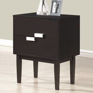 Haffey 2 Drawer Nightstand by Wrought Studio