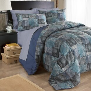 Uber Denim 3 Piece Comforter Set
