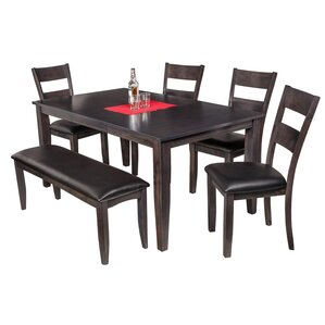 Haan Modern 6 Piece Dining Set by Red Barrel Studio
