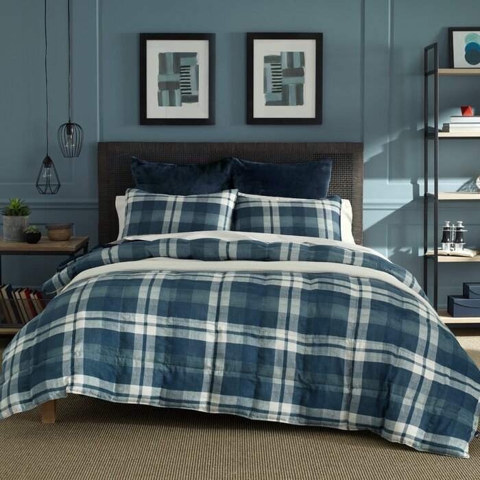 Crossview Reversible Comforter Set