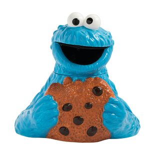 Sesame Street Monster Sculpted Cookie Jar