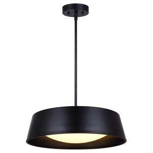 Modern drum pendant lighting templehof led drum pendant aloadofball Choice Image