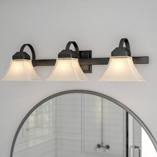 By rnes 3-Light Vanity Light By Three Posts Wall Lights