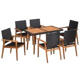Bovina 7 Piece Dining Set