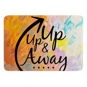 Up Up and Away by Ebi Emporium Memory Foam Bath Mat