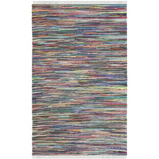 Daphne Hand-Woven Grey/Blue Area Rug by Safavieh