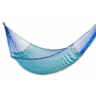 Maya Artists of The Yucatan Double Person Loving Mother Embrace' Sustainable Cotton Tree Hammock