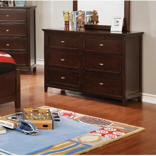 Sebring 6 Drawer Double Dresser
