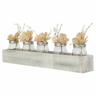 Adalwin Wood Tray Centerpiece Accent