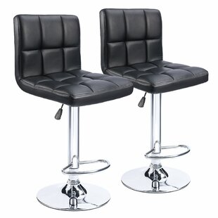 Renea Adjustable Height 33 Swivel Bar Stool (Set of 2) by Orren Ellis