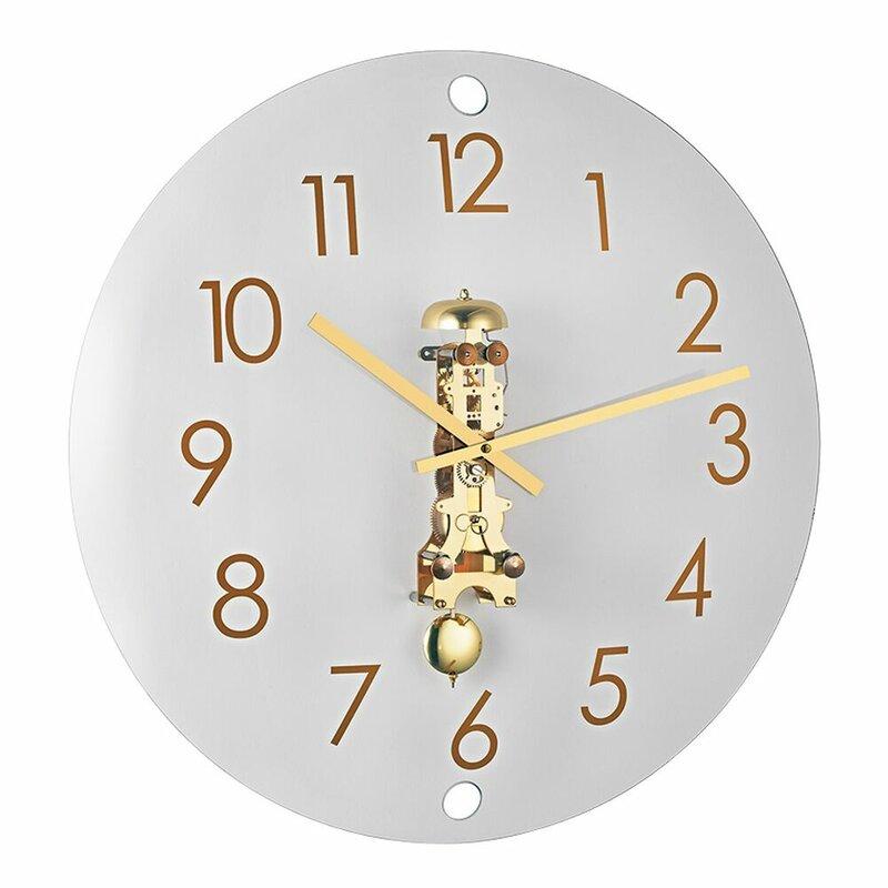 Latitude Run Glidewell 22 Wall Clock Wayfair