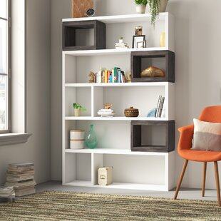 Eowyn Geometric Bookcase by Brayden Studio