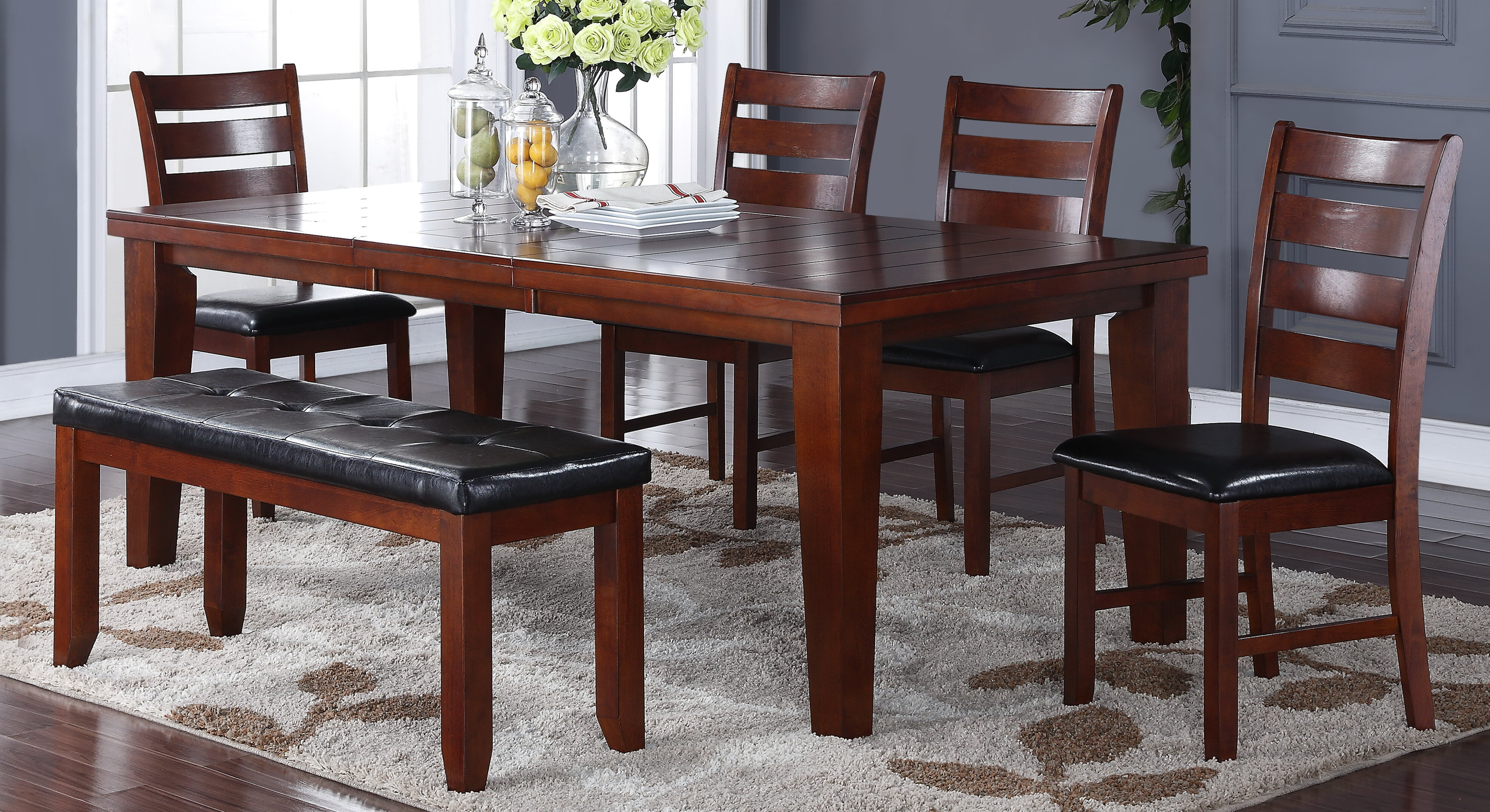 Red Barrel Studio Chaffin 6 Piece Dining Set Reviews Wayfair