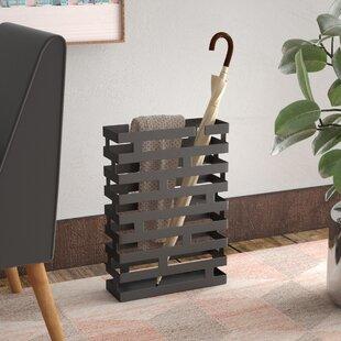 Rectangular Steel Umbrella Stand byZipcode Design