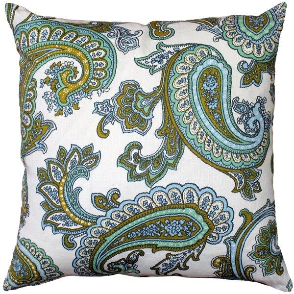 Red Barrel Studio Chidley Paisley Linen Throw Pillow Wayfair