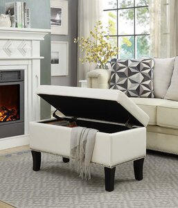 Enjoyable Andover Mills Cohee Storage Ottoman Theyellowbook Wood Chair Design Ideas Theyellowbookinfo