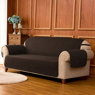 Quilted Reversible Box Cushion Sofa Slipcover