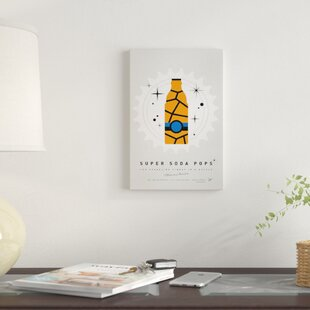 'Super Soda Pops III' Graphic Art Print on Canvas By East Urban Home