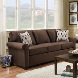 McGugin Modern 84 Round Arms Sofa by Winston Porter