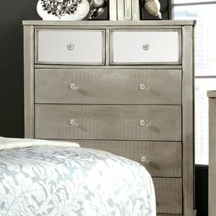 Claridge Wooden 6 Drawer Chest