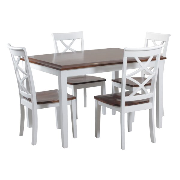 White Wicker Kitchen Sets
