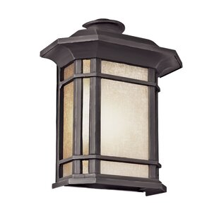 Check Prices Newbury 1-Light Outdoor Wall Lantern By Loon Peak