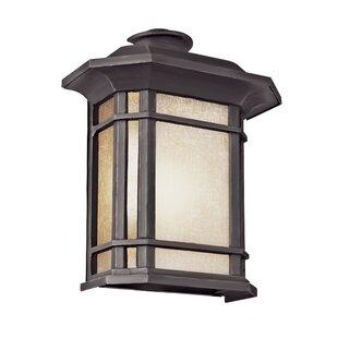 Shop for Newbury 1-Light Outdoor Wall Lantern By Loon Peak