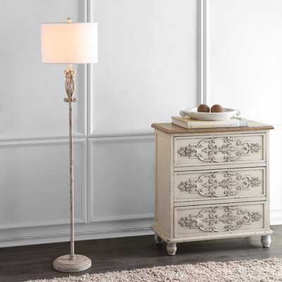 Cottage Amp Country White Amp Cream Floor Lamps You Ll Love In 2019 Wayfair